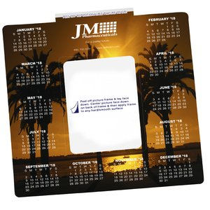 Repositionable Photo Frame Calendar Image 1 of 2