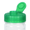 View Extra Image 2 of 2 of Refresh Cyclone Water Bottle with Flip Lid - 24 oz. - Clear - 24 hr