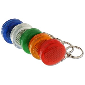 Round Soft Touch LED Key Tag Image 1 of 1