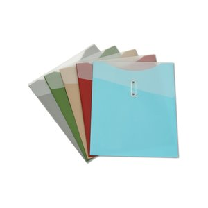 Large Poly Vertical Folder - 12