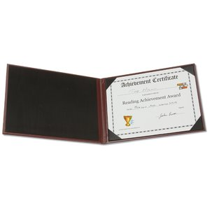 Hard Cover Certificate Holder Image 2 of 2