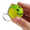 View Image 4 of 4 of Smiley Face Mood Stress Keychain