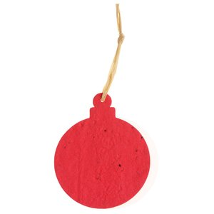 Seeded Paper Ornament - Ornament