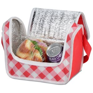 Printed Poly Pro Lunch Box - Gingham Image 1 of 2