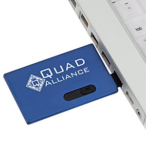 Slide Card Micro USB Drive - 4GB Image 1 of 3