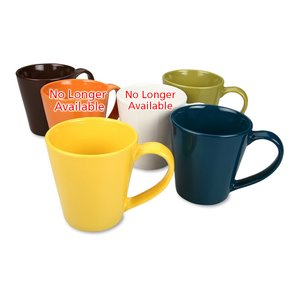 Contemporary Ceramic Mug - 11 oz.