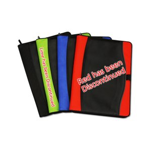 Boomerang Zippered Padfolio Image 1 of 3