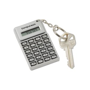 Mini Flex Calculator Key Tag - Closeout Image 3 of 3