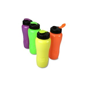 Neon Wave Sport Bottle - 26 oz. Image 2 of 2