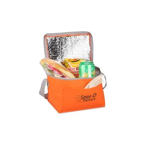 Vivid Non-Woven 6-Pack Cooler Image 1 of 3