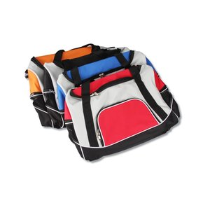 Tri-Pocket Sport Duffel - Screen Image 2 of 2