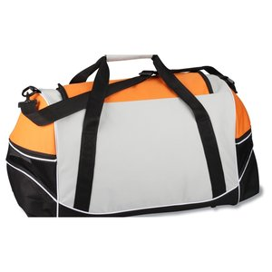 Tri-Pocket Sport Duffel - Embroidered Image 1 of 2