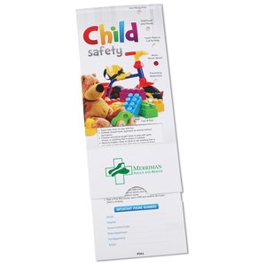 Child Safety Tips Pocket Slider Image 1 of 2