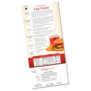 Fast Food Pocket Slider Image 1 of 2