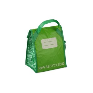 Recycled Impulse Lunch Cooler - Green - Closeout Image 1 of 2