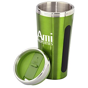 Dual Grip Travel Tumbler - 15 oz. Image 2 of 2