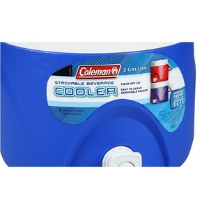 Coleman 2-Gallon Party Stacker Cooler Image 4 of 4