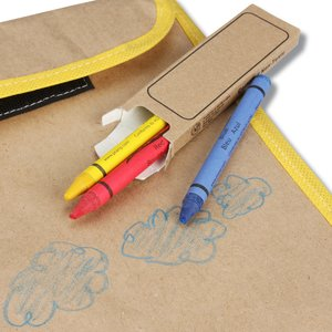 Color-Me Activity Lunch Bag Set