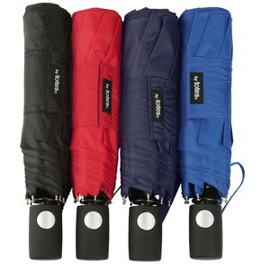 totes Auto Open Folding Umbrella - 42