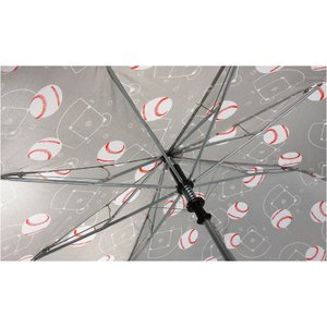 Sports League Auto Open Umbrella - Baseball - Closeout Image 2 of 3