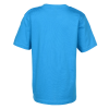 View Extra Image 2 of 2 of Next Level Fitted 4.3 oz. Crew T-Shirt - Boys' - Screen