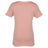 View Extra Image 1 of 2 of Next Level Fitted 4.3 oz. V-Neck T-Shirt - Ladies' - Screen