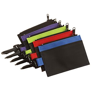 Zip Pouch ID Holder - Colors Image 2 of 2