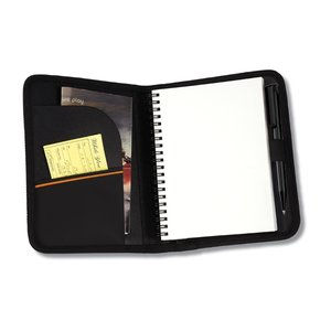 MicroMesh Compact Journal - Black - Closeout Image 3 of 5