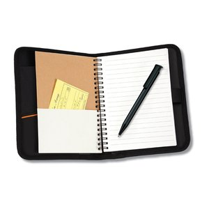 MicroMesh Compact Journal - Black - Closeout Image 5 of 5