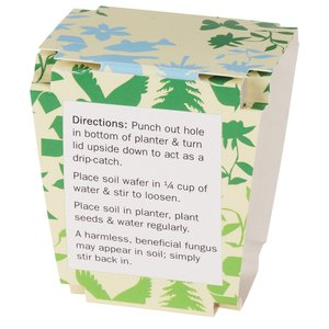 Promo Planter - Earth Friendly - 1 Pack Image 2 of 2