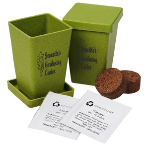 Promo Planter - Earth Friendly - 2 Pack Image 1 of 3