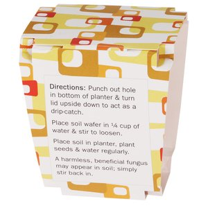 Promo Planter - Retro Orange - 1 Pack Image 2 of 3