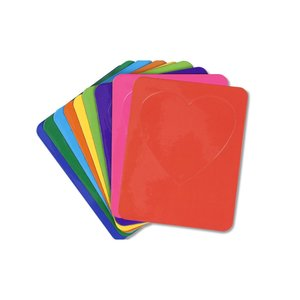 Bic Magnetic Photo Frame - Heart - Colors - 24 hr Image 1 of 2