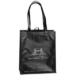 Laminated 100% Recycled Shopper Set-Closeout Image 1 of 8