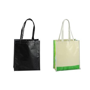 Laminated 100% Recycled Shopper Set-Closeout Image 6 of 8