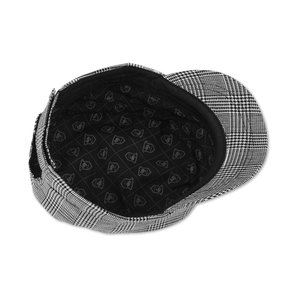 Peter Grimm Cadet Cap - Black Plaid Image 1 of 2