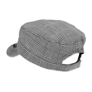 Peter Grimm Cadet Cap - Black Plaid Image 2 of 2