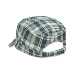 Peter Grimm Cadet Cap - Green Plaid - Closeout Image 1 of 1
