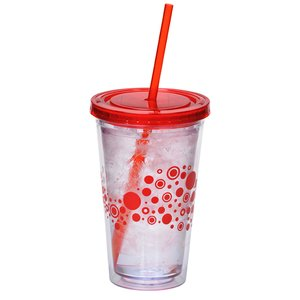 Dotty Color Scheme Spirit Tumbler - 16 oz. - 24 hr Image 2 of 2