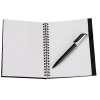 Business Card Notebook with Pen - Opaque