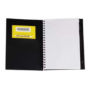 Business Card Notebook with Pen - Opaque Image 4 of 4