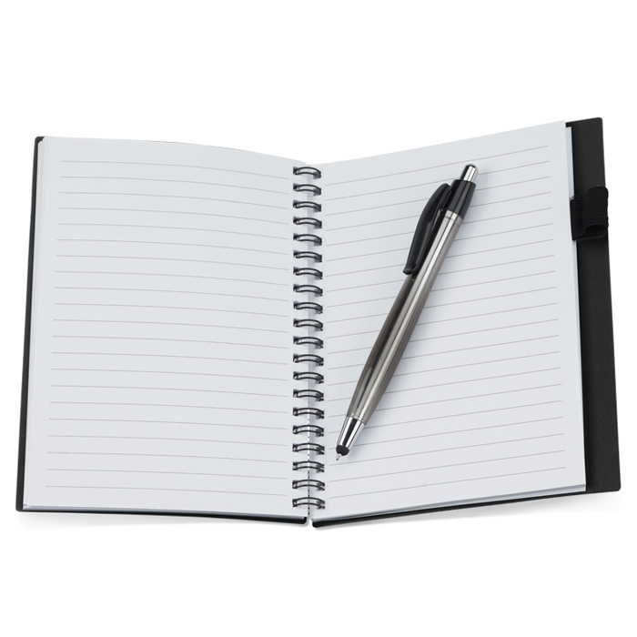 4imprint business card notebook with stylus pen opaque 111505 loading zoom colourmoves Gallery