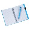 View Image 3 of 3 of Business Card Notebook with Stylus Pen - 24 hr