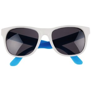 Neon Sunglasses with White Frames