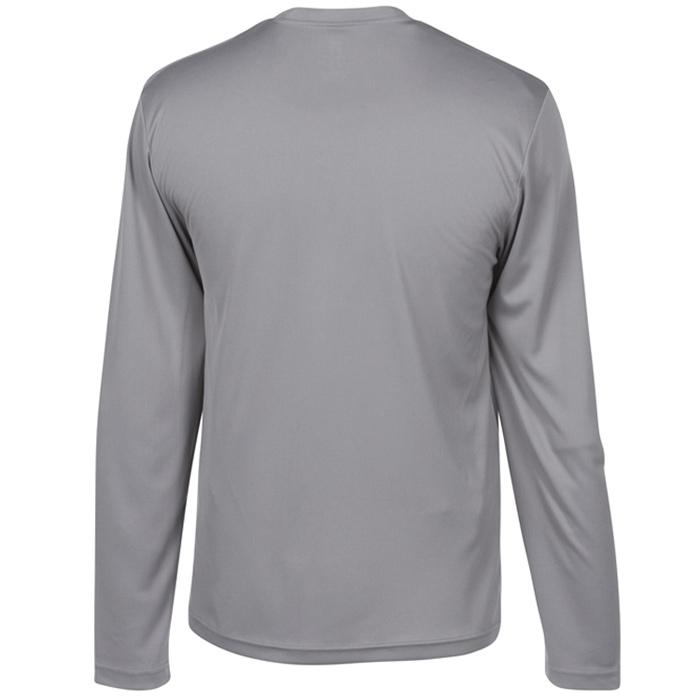 8afafc13 4imprint.com: Hanes 4 oz. Cool Dri Long Sleeve T-Shirt 111580-LS