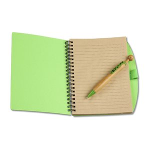 Eco Notebook w/Bamboo Swanky Pen