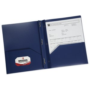 3 Prong Twin Pocket Presentation Folder - Opaque Image 2 of 2