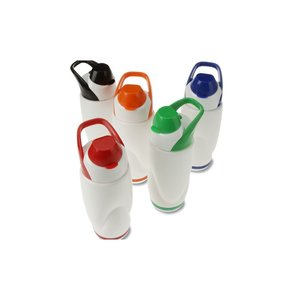 Colorful Flip Top Bottle with Carry Handle - 22 oz.