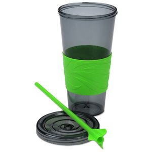 Smoky Revolution Tumbler with Straw - 24 oz. - 24 hr Image 1 of 2