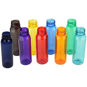 Poly-Pure Outdoor Bottle with Tethered Lid - 24 oz.